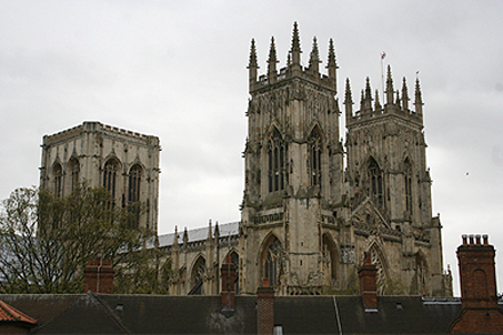 The imposing York Minster