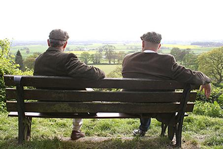 A couple'a classy blokes