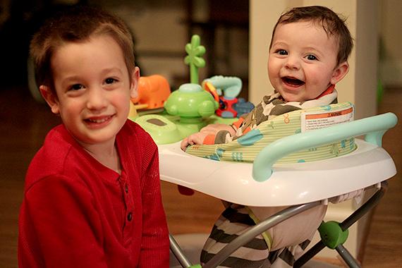 Calvin and Cousin Aiden