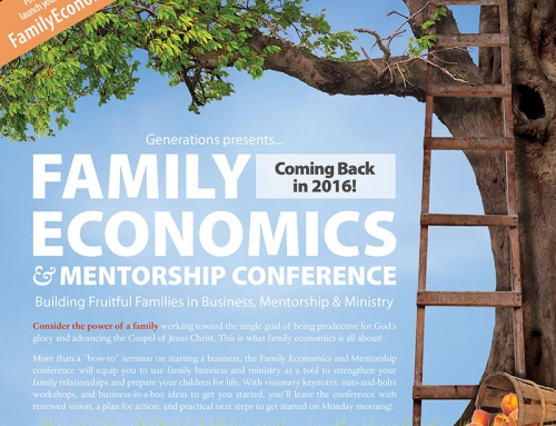 Family Economics Conference Magazine Ad