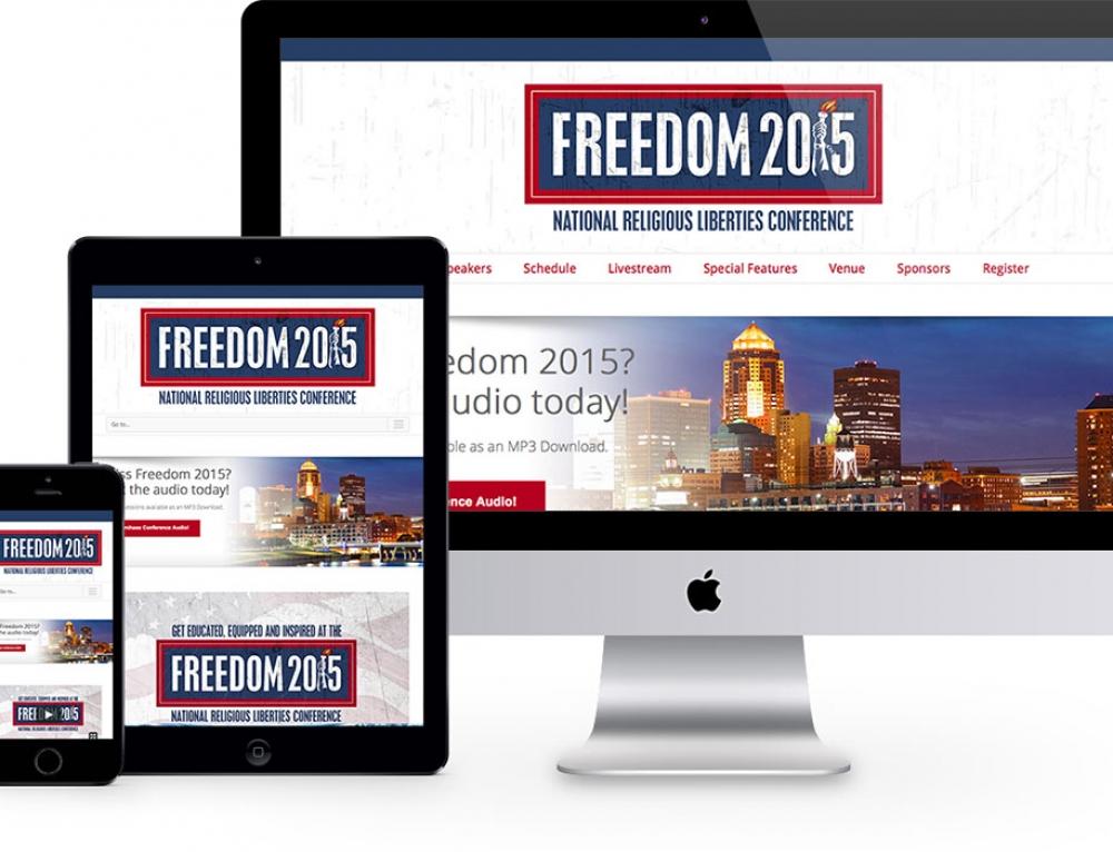 Freedom 2015 Web Site