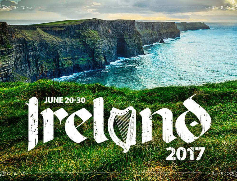 Ireland 2017 Event Poster