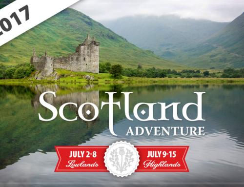 Scotland 2017 Event Poster