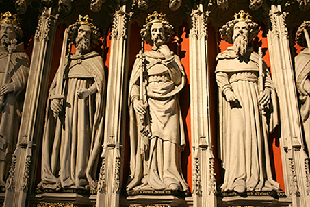 Just a few in a long row of past rulers of York