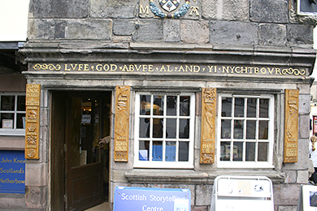 The Edinburgh home of beloved reformer John Knox