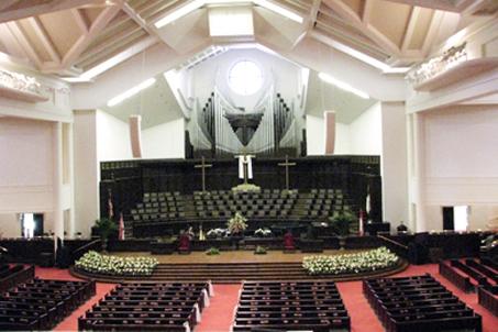 Inside Briarwood Presbyterian Church