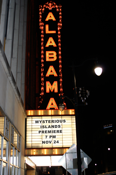 Mysterious Islands Film Premiere — Birmingham, Alabama