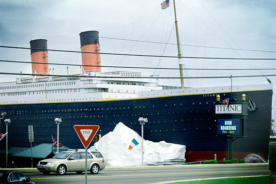 The Half-Scale Titanic Museum, Branson, Missouri