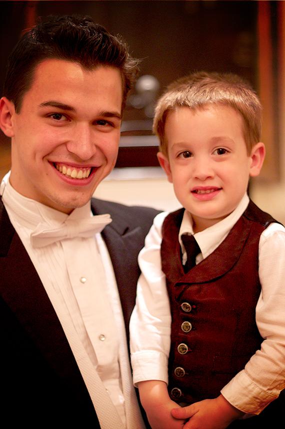 Calvin and His Friend, Josh Phillips