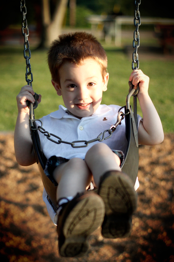 Calvin Swinging!