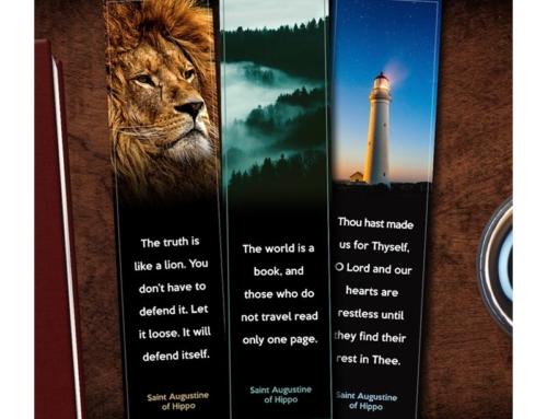 Augustine Quote Bookmark Set