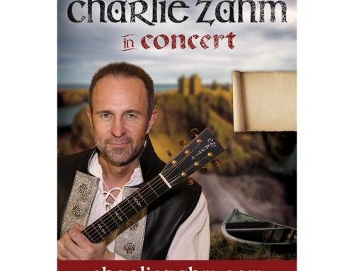 Charlie Zahm Concert Poster