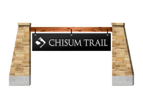 Chisum Trail Subdivision Signage