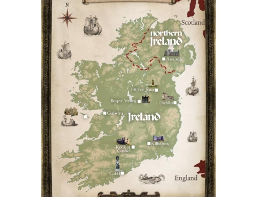 Ireland Tour Map