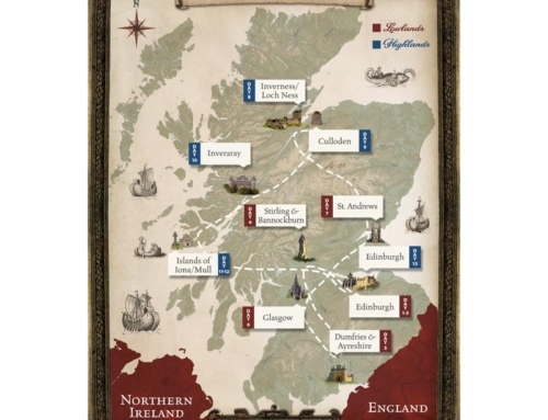 Scotland Tour Map